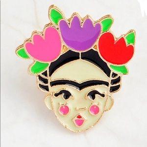 Jewelry - 🛑S A L E🛑 Frida Kahlo Enamel Pin Artist
